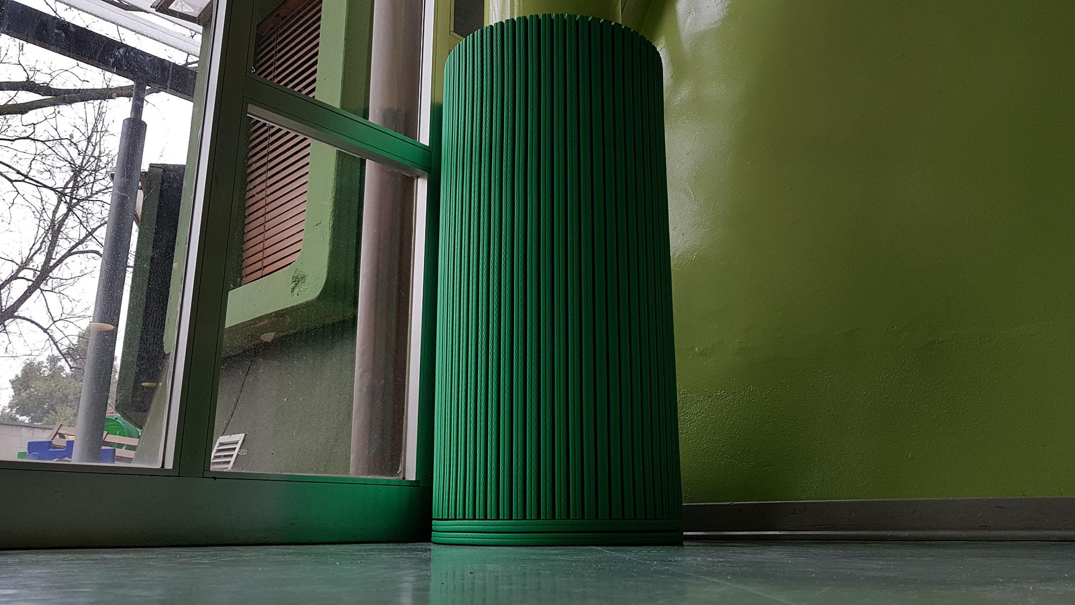 Protezioni di pilastri per la scuola e sport di Giocare in Sicurezza